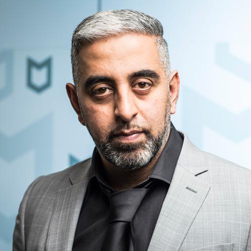 Headshot of Raj Samani.